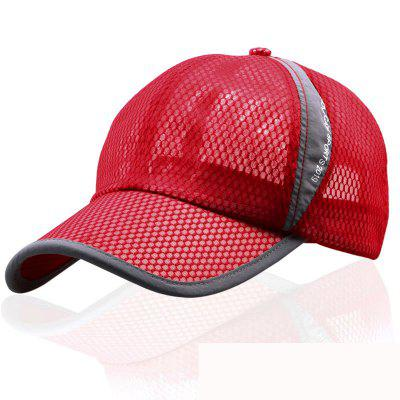 Summer Light and Breathable Mesh Eye Cap + Adjustable for 56-60CM