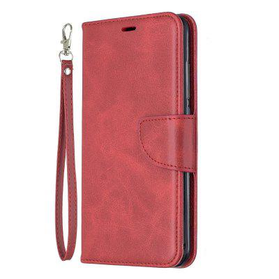 Original Solid Color Retro Protection Leather Phone Case for Xiaomi Redmi Note 7