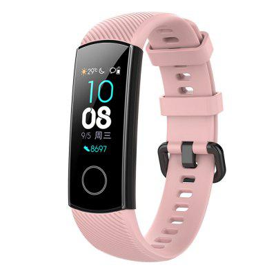 Silicone Wrist Strap Watch Band For Huawei Honor Band 4 Smart Watch