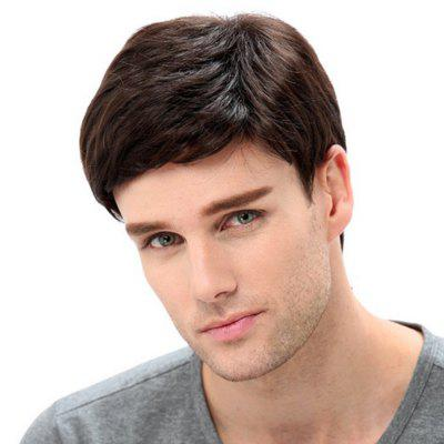Man Handsome Fluffy Short Wig