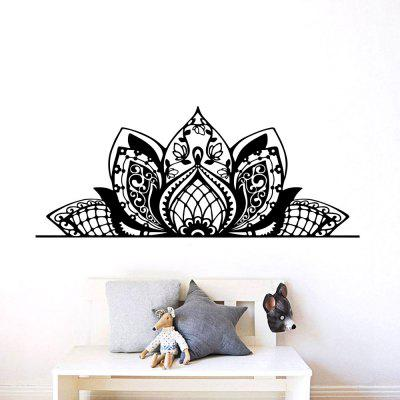 Lotus Flower Home Living Room Sofa Background Wall Decoration