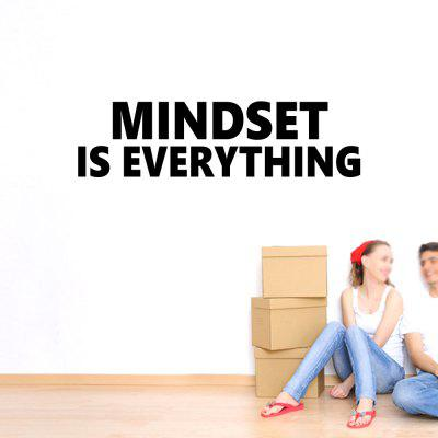 Mindset Art Apothegm Abziehbild Removable Wall Sticker