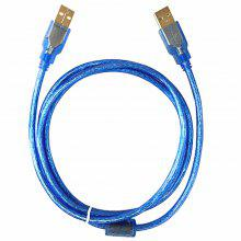 USB2.0 Extension Cable Male To Male USB Adapter Blue Anti-Interference