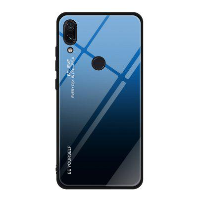 Gradient Tempered Glass Back telefon pentru Xiaomi Redmi Nota 7 / Nota 7 Pro