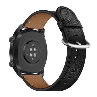 Adjustable Leather Watch Band Round Tail for Huawei GT Watch
