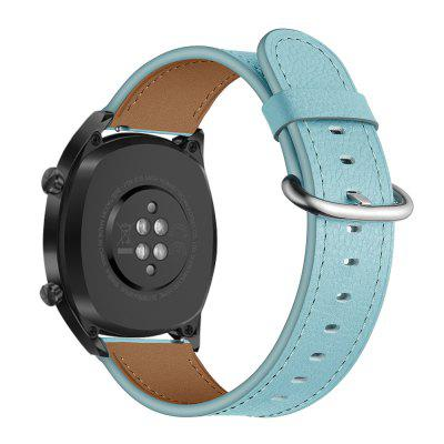 Bracelet de Montre en Cuir Réglable de Queue Ronde pour Huawei GT Watch