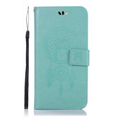 Owl Wind Chimes Flip Wallet Leather Phone Cover for Google Pixel 3A Case