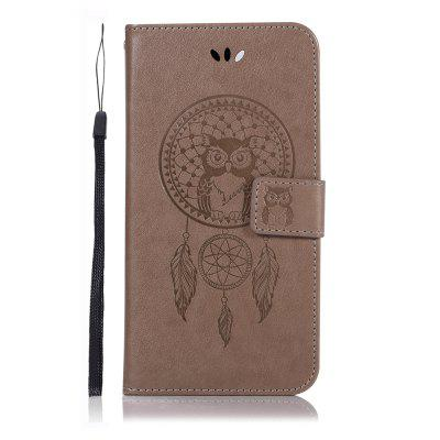 Owl Wind Chimes Flip Wallet Leather Phone Cover for Google Pixel 3A XL Case