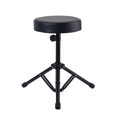 Adjustable Drum Throne Seat Drummers Stool Stand Chair Folding