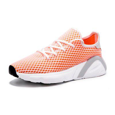 Flat Bottom Breathable Mesh Cloth Female Sneakers