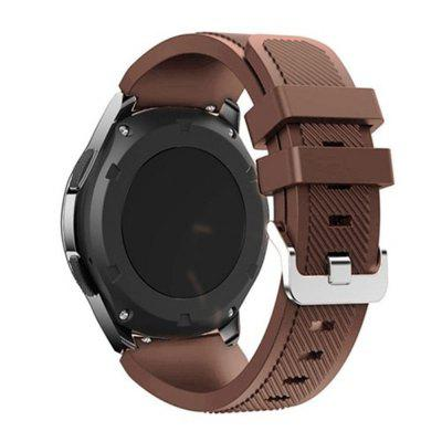 Pasek silikonowy do Samsung Gear S3 / Frontier Watches 22MM
