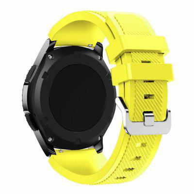 Siliconen band voor Samsung Gear S3 / Frontier Horloges 22MM