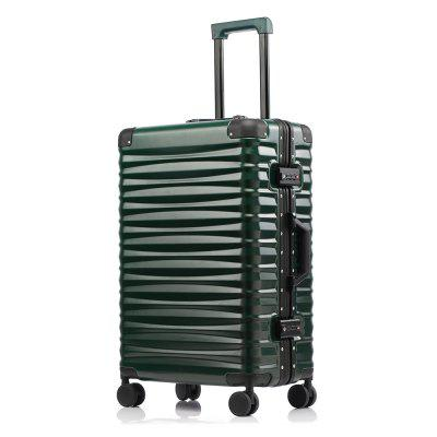 TUGUAN New High-End Fashion Magnesium Alloy Frame Stick Luggage 20/24/26/28 Inch