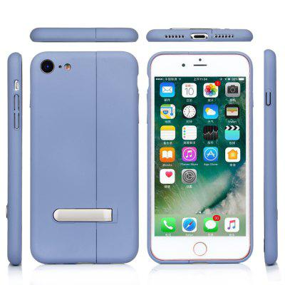 Solid Color Left and Right Stitching Magnetic King Phone Case for IPhone 7/8