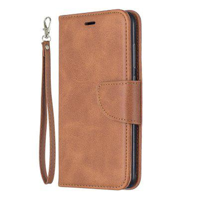 Retro Mobile Phone Protection Leather Case for Huawei Y7