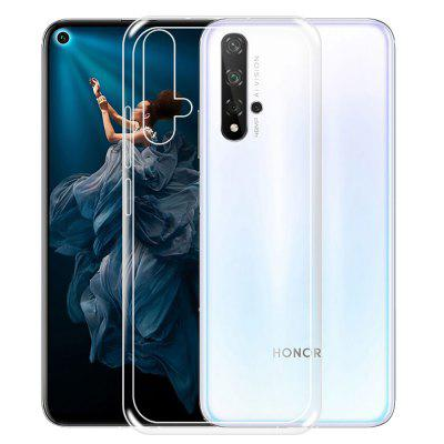 Schokbestendig Clear TPU Soft Phone Case voor Huawei Honor 20