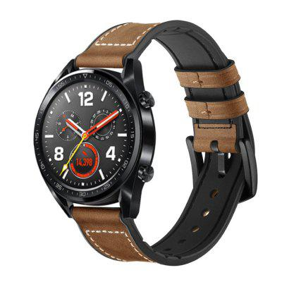 Leder Silikon Uhrenarmband für Huawei Watch GT / Magic / Uhr 2 Pro