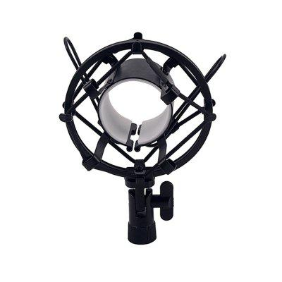 Universal Microphone Shock Mount Holder Clip Anti Vibration Suspension