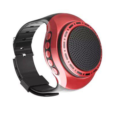 U6 Orologio da polso Bluetooth Speaker Radio Outdoor Sports Card Lettori MP3