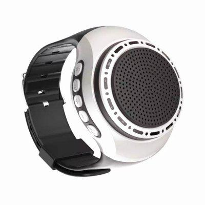 U6 Montre-Bracelet avec Haut-Parleur Bluetooth Radio Sports en Plein Air Lecteur MP3