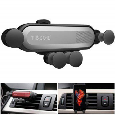 Universal Car Phone Air Vent Gravity Linkage Shock Mount  Holder