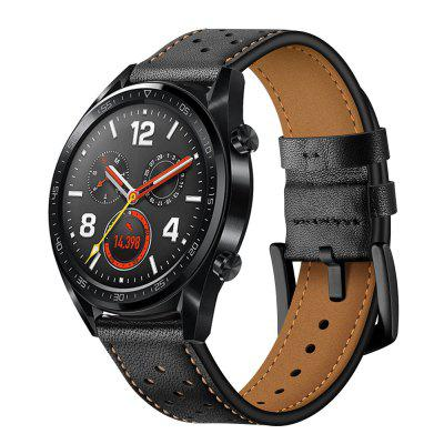 Leather Watch Band Wrist Strap for Huawei Watch GT / Honor Magic / Watch 2 Pro