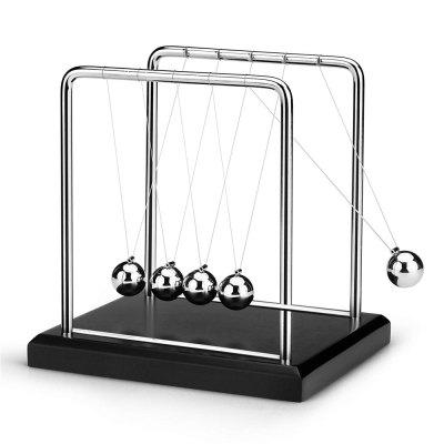 Newton Cradle Metal Balance Balls Permanent Motion Office Desk Decoration