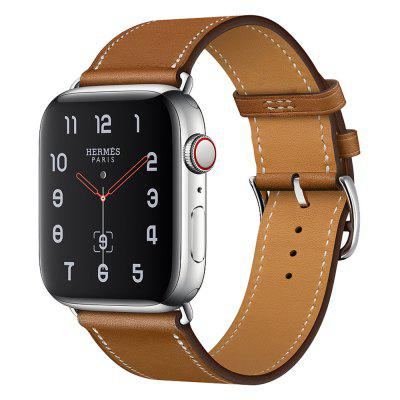 Genuine Leather Watch Band Wrist Strap for iWatch Series 4/3/2/1 42mm 44mm