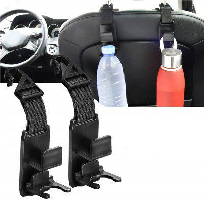 Purse Hanger Headrest Hook Holder for Car Seat Organizer 2PCS