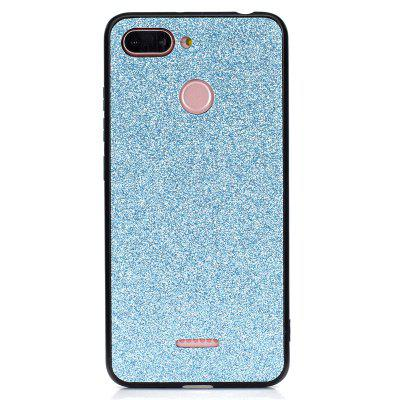 Glitter TPU + PC Shockproof Phone Case for Xiaomi Redmi 6