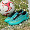 Adults Outdoor Soccer Cleats High Top Football Training Sports Sneakers for Men - LIGHT SKY BLUE