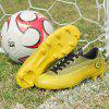 Adults Outdoor Soccer Cleats High Top Football Training Sports Sneakers for Men - GOLD