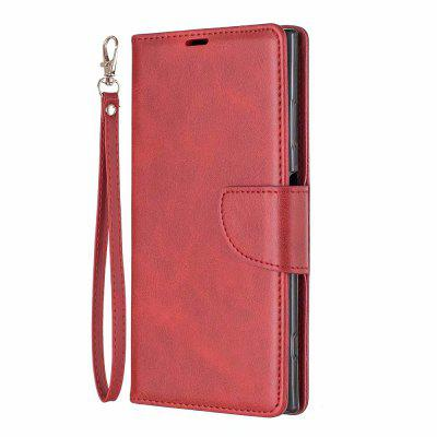 Retro Mobile Phone Protection Leather Case for Sony XA1 Plus