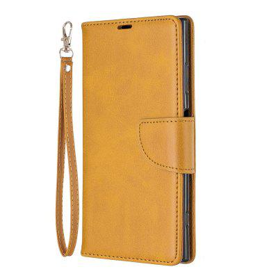Retro Mobile Phone Protection Leather Case for Sony XZ2