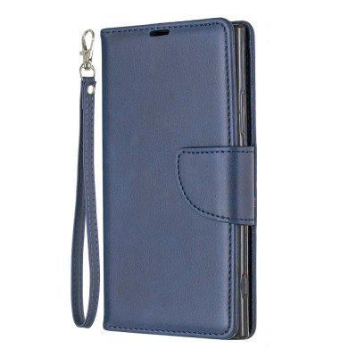 Retro Mobile Phone Protection Leather Case for Sony XA2