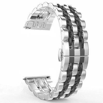 Seven Bead Bracelet Stainless Steel Butterfly Clasp Watch Band for HUAWEI GT