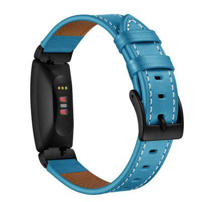 Fashion Watch Strap Leather Band for Fitbit Inspire HR / Inspire