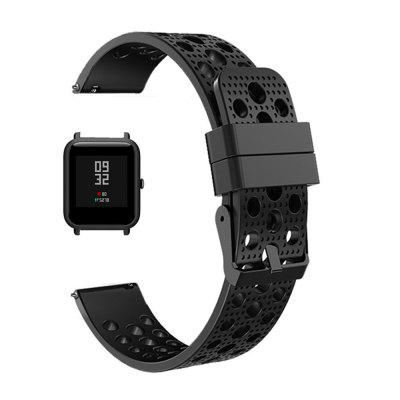 Szilikon Watch Band csuklópánt a Xiaomi AMAZFIT Bip Youth Smart Watch számára