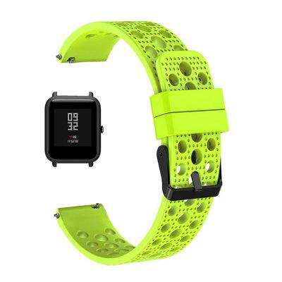 Silicone Watch Band Wrist Strap for Xiaomi AMAZFIT Bip Youth Smart Watch