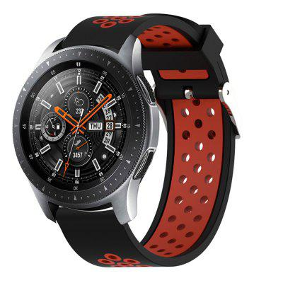 Silicone Strap Watch Band for Samsung Galaxy Watch 46MM / S3Classic / Frontier
