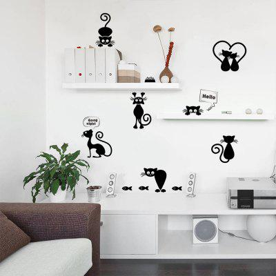 Lovely Animal Light Switch PVC Wall Sticker