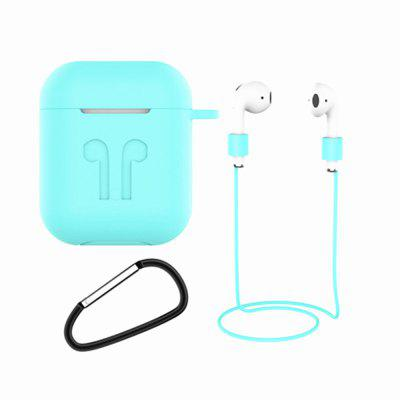 Anti-fall Belt Hook Case Thin Case with Hanging Buckle for Airpods Charging Box