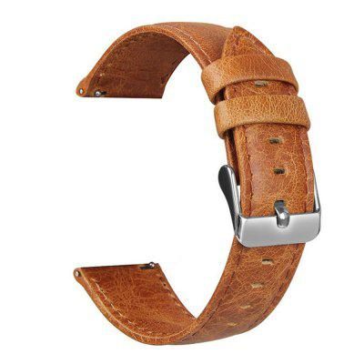 Crazy Horse Leather Watch Strap for Samsung S3 Smart Watch 22mm