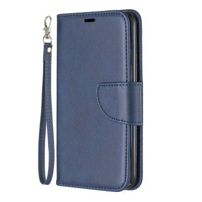 Solid Color Retro Full Protection Leather Phone Case for LG K8 2018