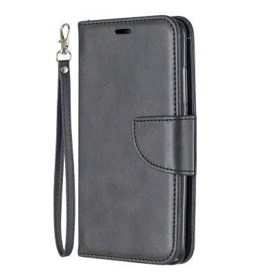 Solid Color Retro Full Protection Leather Phone Case for Xiaomi Redmi 6 / 6A