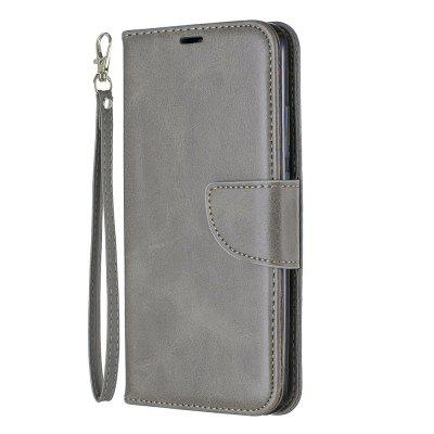 Solid Color Retro Full Protection Leather Phone Case for Xiaomi Redmi 7
