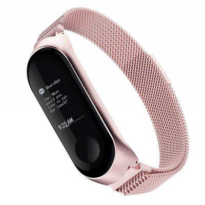 Stainless Steel Strap for Xiaomi Mi Band 4 Smart Bracelet