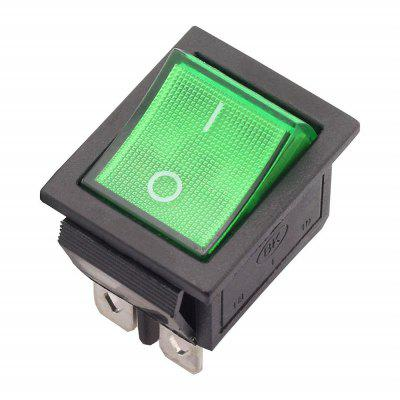 Rocker Power Switch 16A 250V AC 4 Pin 2 Position ON/Off SPST 5PCS
