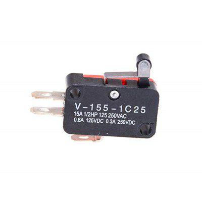 V-155-1C25 Micro Interruptor Da Alavanca Do Rolo Da Dobradiça 10PCS