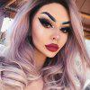 Cosplay Central Parting Hair Style Gradient Ramp peluca larga - LILA